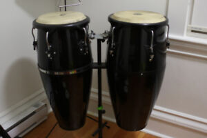 Full size Congas with stand
