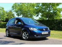 2009 Volkswagen Golf Plus 2.0 TDI PD GT 5dr,MANUAL,6 SPEED ,1 OWNER CAR