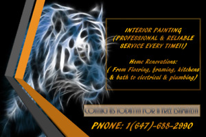 PROFESSIONAL & RELIABLE PAINTERS!!!
