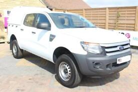 2014 FORD RANGER TDCI 130 XL 4X4 DOUBLE CAB WITH TRUCKMAN TOP PICK UP DIESEL