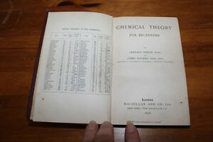Chemical Theory for Beginners 1896 London Ontario image 3