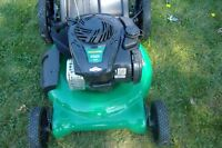 NEW!!! (HIGH-WHEEL) WEED-EATER GAS MOWER 5.5HP/ TRIMMER