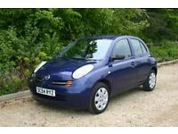 DIESEL Nissan Micra with FULL SERVICE HISTORY and Long MOT done 107652 miles