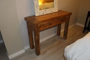 SOFA TABLE _ NEW_ Solid Wood
