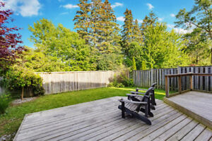 Upgraded detached in Lakeside Ajax -backing on Waterfront trail