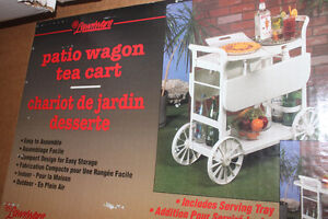 New Patio Trolley... great for inside or out