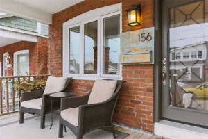Renovated Open Concept 3 Bedroom House for Rent in the Danforth
