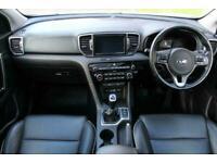 2017 Kia Sportage 1.7 CRDI 3 ISG 5d 114 BHP Estate Diesel Manual