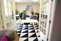 Bright & Beautiful furnished office /retail /commercial DOWNTOWN