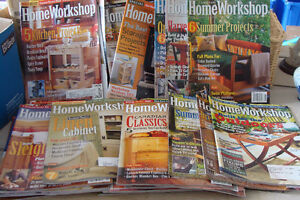 Home Workshop Magazines-Woodworking Do It Yourself Plans-over 40