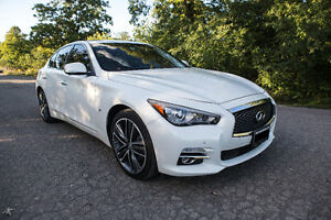 2015 Infiniti Q50 AWD Lmtd- Driver Assist + Tech + Dlx Touring