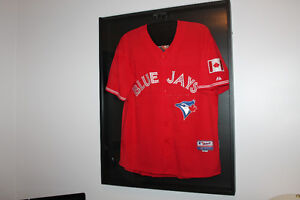 Shadow box jersey frame
