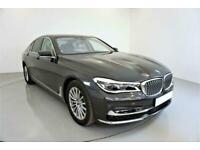 2017 GREY BMW 740D 3.0 XDRIVE EXCLUSIVE AUTO SALOON CAR FINANCE FR £530 PCM