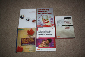 Nursing textbooks