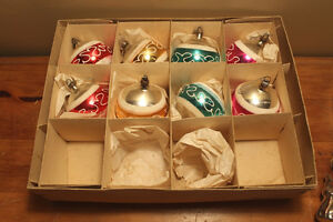 Vintage Boxes of Glass Christmas Ball Ornaments #1 London Ontario image 3
