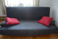 Ikea couch bed very comfortable. Good conditions