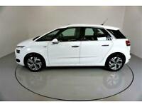 2016 WHITE CITROEN C4 PICASSO 1.6 E-HDI 115 EXCLUSIVE MPV CAR FINANCE FR £145PCM