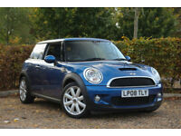 2008 Mini Mini 1.6 ( 175bhp ) ( Chili ) Cooper S LOW MILES+LEATHERS+ROOF+NAV
