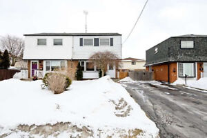 Central, Oshawa 3 Bedroom Semi-Det'd Home For Sale