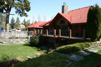 Windermere BC-High End Log Home