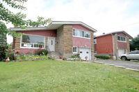 Beautiful split level home in CSL Cote-St-Luc, garage, hardwood!