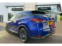 2021 Lexus RX ESTATE 450h 3.5 F-Sport 5dr CVT (Takumi pack) Auto SUV Petrol/Elec