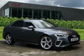 image for 2020 Audi A4 S line 40 TFSI  190 PS S tronic Semi Auto Saloon Petrol Automatic
