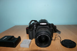 Canon T1i DSLR, with lens cap, charger and battery - NEGOCIABLE Gatineau Ottawa / Gatineau Area image 1