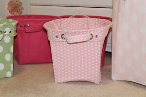 Pottery Barn Kids Canvas Storage Buckets - $30, $20 Belleville Belleville Area image 5