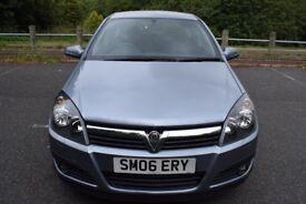 Vauxhall Astra 1.6I 16V SXI INTERNET - 6 MONTHS WARRANTY (silver) 2006