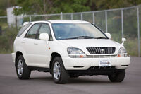 1999 Toyota Harrier - Right Hand Drive - Certified and E-tested