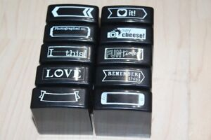 Self Inking Funky Rubber Stamps