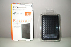 Seagate  Portable Drive  2 TB...Brand new...  Never used