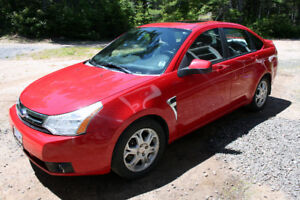 2008 FORD FOCUS 5 SPEED MANUAL