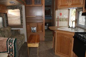 2007 cougar bunk model 5th wheel