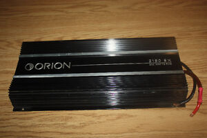 ORION 2150-SX OLD SCHOOL POWER AMPLIFIER IN CLEAN CONDITION