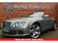 2012 Bentley Continental 6.0 GTC 2d 567 BHP Convertible Petrol Automatic