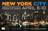 New York City april 8-10 2016