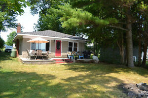 Lake Couchiching Waterfront Cottage For Rent near Orillia: