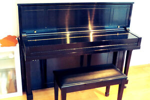 2005 Steinway & Sons upright model 1098 Prince George British Columbia image 2