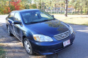 2004 Toyota Corolla CE (Brand New MVI) (Reduced)