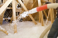 GET YOUR HOME WINTER READY! R-VALUE BLOWN IN INSULATION