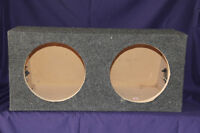 """SPEAKER BOX FOR TWO 10"""" SUB WOOFERS"""