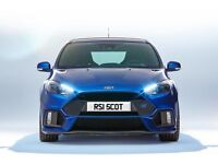 Focus RS or Audi rs1 number plt