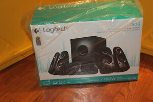 Logitech Surround Sound Speakers Z506 - New Sealed In Box