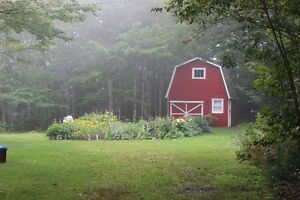 Looking to lease or buy land , barn for Organic Flower Farming