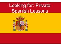 Looking for Private Spanish Lessons
