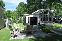 Maison mobile 2011 sur le bord du Lac Champlain