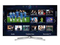 "Samsung Series 6 55"" Smart 3D Full HD TV & Samsung 3D Blu-Ray Player"