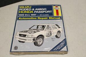 1989-1997 ISUZU RODEO & AMIGO HONDA PASSPORT REPAIR MANUAL